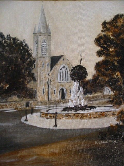 Ballinahown Church Acrylic 2ftx1ft